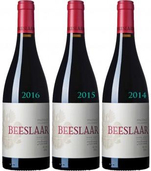 Beeslaar Pinotage Vertikale Weinprobe 2017/2016/2015