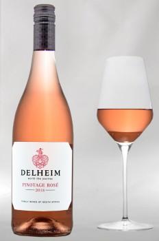 18 x Delheim Pinotage Rosé 2020