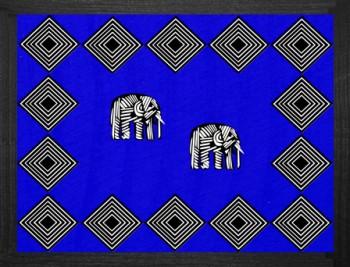 Elephant Tischset Blau 38x29