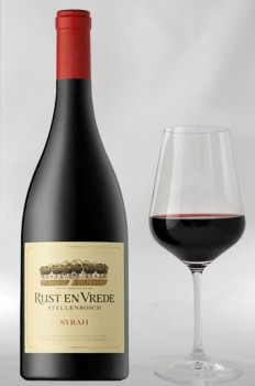 Rust en Vrede Estate Vineyards Syrah 2015