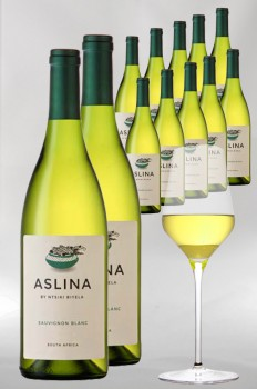 12 x Aslina by Ntsiki Biyela Sauvignon Blanc 2019